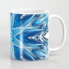 Blue Snowflake Mandala Coffee Mug