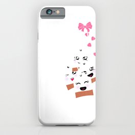 Tea Party I Love Tea Tea Lover Start Your Day With A Tea Party iPhone Case