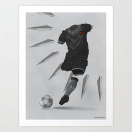 Wakanda World Cup 2018 Art Print