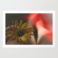 see her when you close your eyes, Art Print