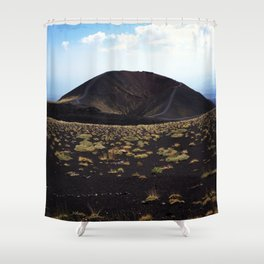 Mount Etna Sicily Shower Curtain