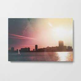 Sailing Into Daylight Metal Print