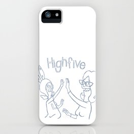 high 5 iPhone Case