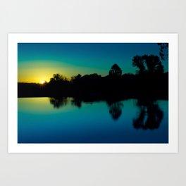 Cool sunrise Art Print