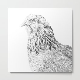 she's a beauty drawing Metal Print