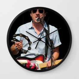ed droste // grizzly bear Wall Clock