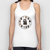 thorin Tank Tops featuring Dwarpacas(Thorin) by Lady Cibia