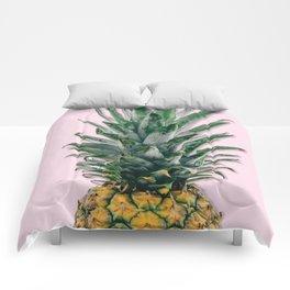 pink pineapple Comforters