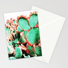 Cactus - watetcolor II Stationery Cards