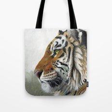 Tiger profile AQ1 Tote Bag