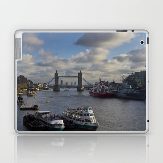The River Thames Laptop & iPad Skin