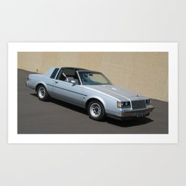 Grand National Regal T-type Turbo T in Silver Art Print