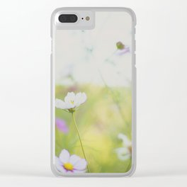 . cosmos are love . Clear iPhone Case