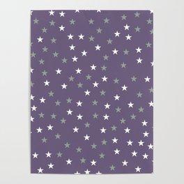 Stars Pattern 2 Poster
