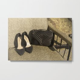Street Luxury Metal Print