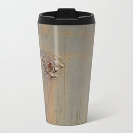 Disgusting Grungy Rusty Wounded Painted Metal Travel Mug