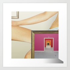 RahmenHandlung 2 Art Print