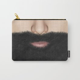 Beard Mouth and Nose Carry-All Pouch