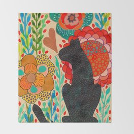 Sometimes My Love Is A Wild Thing Throw Blanket