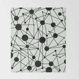 We're All Connected Throw Blanket