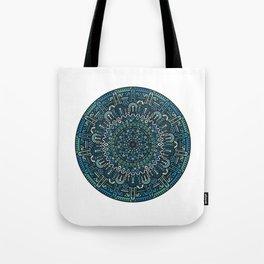 Winter Mandala Tote Bag