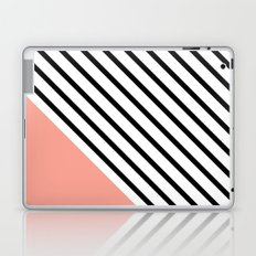 Diagonal Block - Pink Laptop & iPad Skin