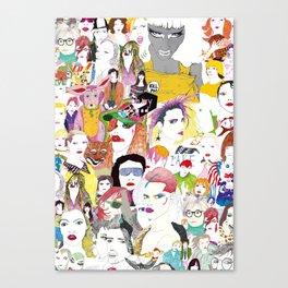 Pop Friends Canvas Print