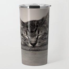 Sleepy Kitty Travel Mug