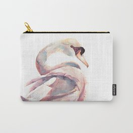 Swan Floating Away Carry-All Pouch