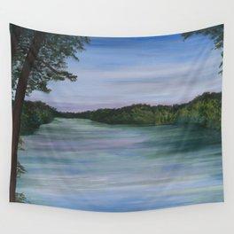 Lake View Wall Tapestry