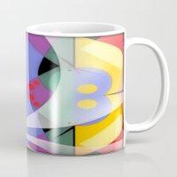 milky way Mugs featuring Milky Way by Kristine Rae Hanning