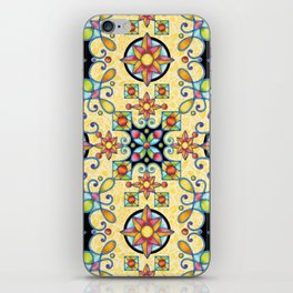 Rococo Starburst iPhone Skin
