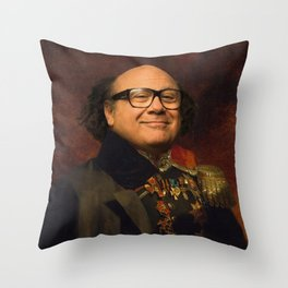 Danny Devito Classical Regal General Painting Throw Pillow