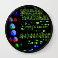 biology Wall Clocks featuring Conquer Biology by Leone Bachega