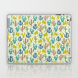 Prickly Cactus (Greens) Laptop & iPad Skin