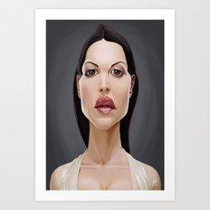 Celebrity Sunday ~ Monica Bellucci Art Print