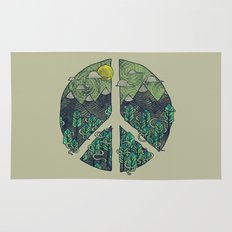 Peaceful Landscape Rug