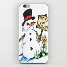 optimist  iPhone & iPod Skin
