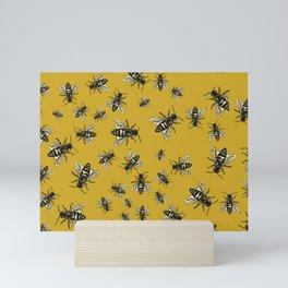 Oshun's Anthophila  (the bee study) Mini Art Print