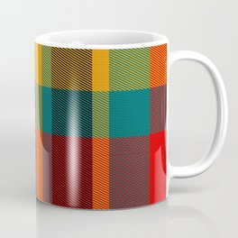 Summer Plaid 2 Coffee Mug