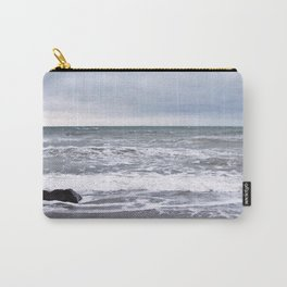Cloudy Day on the Beach Carry-All Pouch