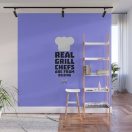 Real Grill Chefs are from Beijing T-Shirt Wall Mural