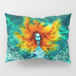 Siren splash Pillow Sham
