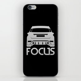 Ford Focus RS - silver - iPhone Skin