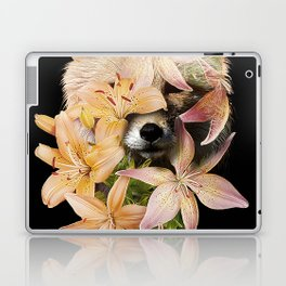 Foxy Flowers Laptop & iPad Skin