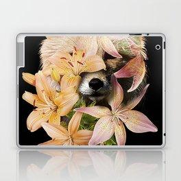 Foxy Flowers Laptop & iPad Skin
