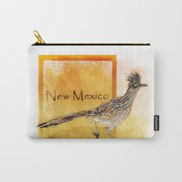 Roadrunner Of New Mexico-Barbara Chichester Carry-All Pouch