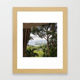 Karon Lookout, Phuket, Thailand Framed Art Print