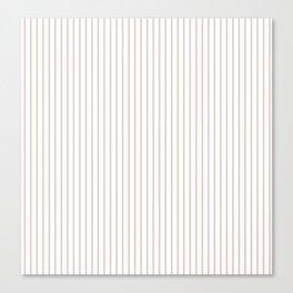 Lotus Stripes Canvas Print