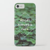lee pace iPhone & iPod Cases featuring Adopt Nature's Pace by Ashley Herrin
